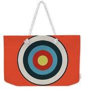 Vintage Target - Orange Weekender Tote Bag