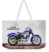 The Sportster Vintage Motorcycle Weekender Tote Bag