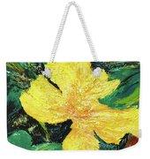 Dancing Flower Weekender Tote Bag