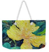 Dancing Flower Weekender Tote Bag