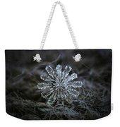 December 18 2015 - Snowflake 3 Weekender Tote Bag by Alexey Kljatov
