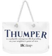 Thumper Weekender Tote Bag