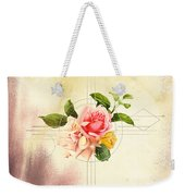 Golden Abstraction Weekender Tote Bag by Bee-Bee Deigner