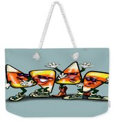 Candy Corn Gang Weekender Tote Bag