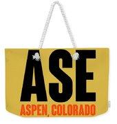 Ase Aspen Luggage Tag I Weekender Tote Bag