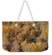 Aspen Autumn Leaves Weekender Tote Bag