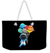 Astronaut With Planet Balloons Outta Space Weekender Tote Bag