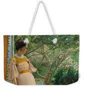 At The French Windows. The Artist's Wife Weekender Tote Bag