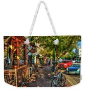 College Town Athens Georgia Downtown Uga Athens Georgia Art Weekender Tote Bag