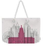 Atlanta Landmarks Weekender Tote Bag