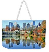 Atlanta Reflected Weekender Tote Bag