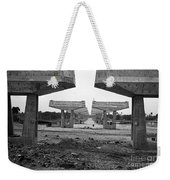 Attention Stand Tall Weekender Tote Bag