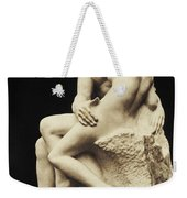 Auguste Rodin The Kiss, 1886 Marble Sculpture Weekender Tote Bag
