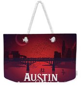 Austin Congress Bridge Bats Weekender Tote Bag