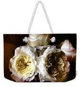 Austin Roses Notan Weekender Tote Bag