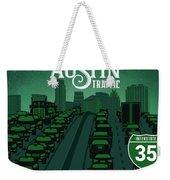 Austin Traffic Weekender Tote Bag