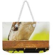 Australian Kookaburra Weekender Tote Bag