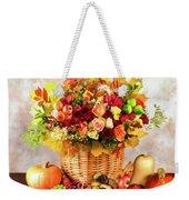 Autum Harvest Weekender Tote Bag