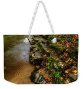 Autumn At Cherry Falls Elk River Weekender Tote Bag