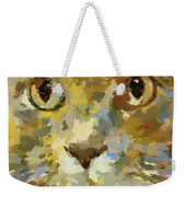 Autumn Cat Weekender Tote Bag