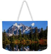Autumn Colors With Mount Shuksan Weekender Tote Bag