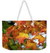 Autumn Colour Weekender Tote Bag
