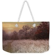 Autumn Frost Weekender Tote Bag