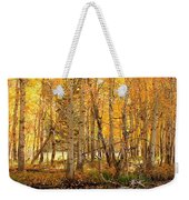 Autumn Gold Rush Weekender Tote Bag by Sean Sarsfield