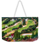 Autumn Golf Course Weekender Tote Bag