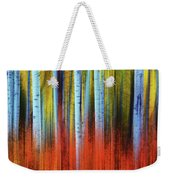 Autumn In Color Weekender Tote Bag by John De Bord