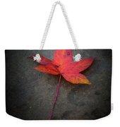 Autumn Leaf Weekender Tote Bag