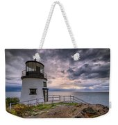 Autumn Morning At Owls Head Weekender Tote Bag