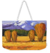 Autumn Mountain Weekender Tote Bag