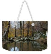 Autumn On The Kings River Weekender Tote Bag