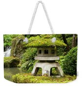 Autumn, Pagoda, Japanese Garden Weekender Tote Bag