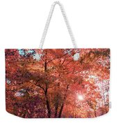 Autumn Path Reimagined Weekender Tote Bag