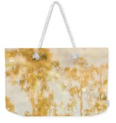 Autumn Puddles Weekender Tote Bag