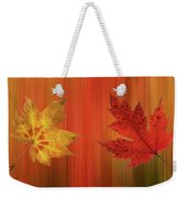 Autumn Spirit Panoramic Weekender Tote Bag