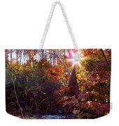 Autumn Starburst Weekender Tote Bag