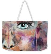 Autumn - Woman Abstract Art Weekender Tote Bag