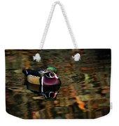 Autumn Woody Weekender Tote Bag