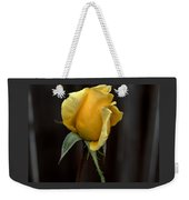 Autumn Yellow Rose Weekender Tote Bag