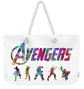 Avengers Team Weekender Tote Bag
