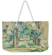 Avenue Of Chestnut Trees At The Jas De Bouffan  Weekender Tote Bag