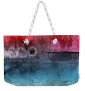 Awakened 4-  Abstract Art By Linda Woods Weekender Tote Bag