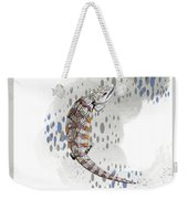 B Is For Blue Tongue Lizard Weekender Tote Bag