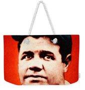 Babe Ruth, Portrait Weekender Tote Bag