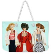 Baby It's Cold Outside Barbies Weekender Tote Bag