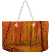 Back Woods Weekender Tote Bag