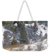Badlands Winter Weekender Tote Bag